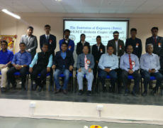 Inauguration of IE (I) SRICT Students Chapter (Electrical)