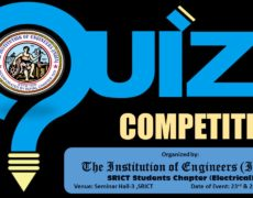 Quiz competition for students at SRICT, Vataria